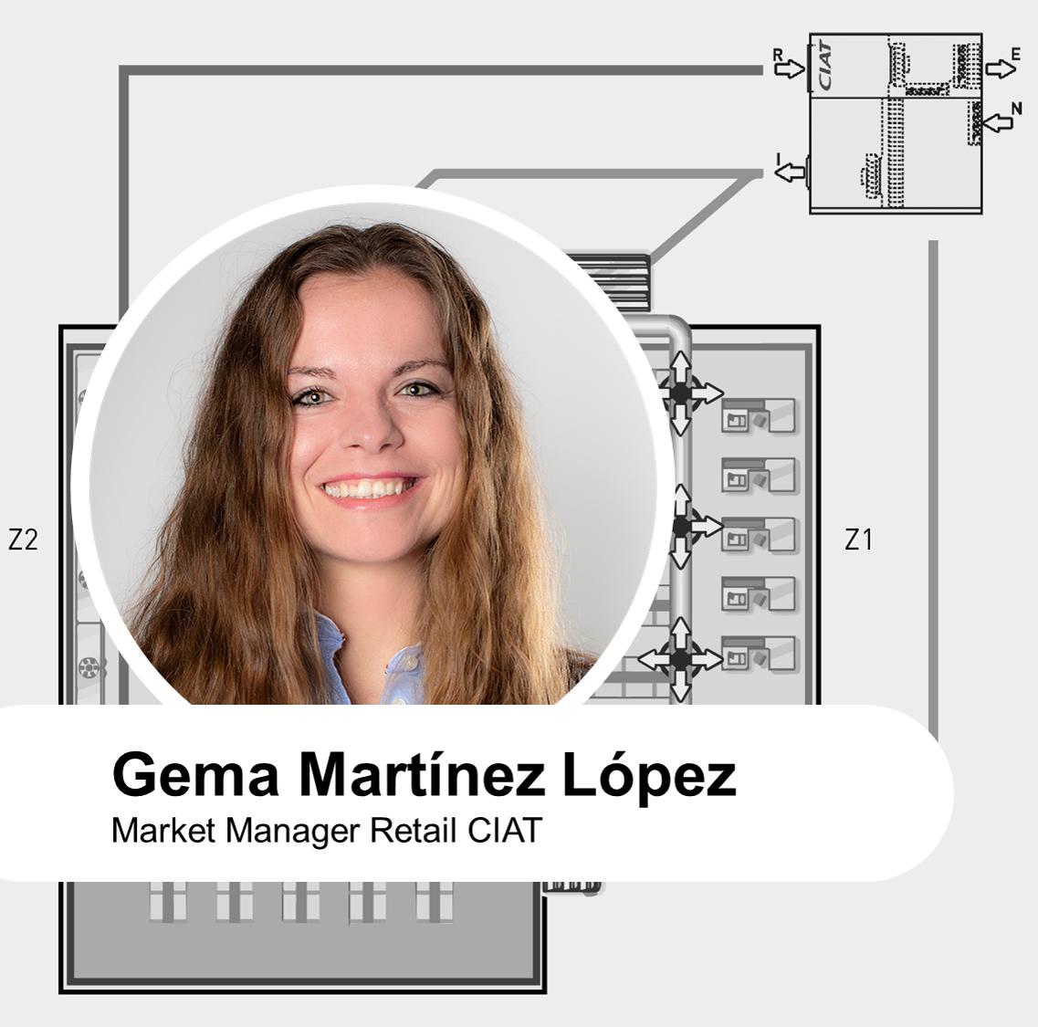 Rooftop para climatización y confort sostenible de supermercados por Gema Martínez López
