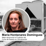 Entrevista a la mejor alumna de la VI edición del Curso de Experto en Climatización